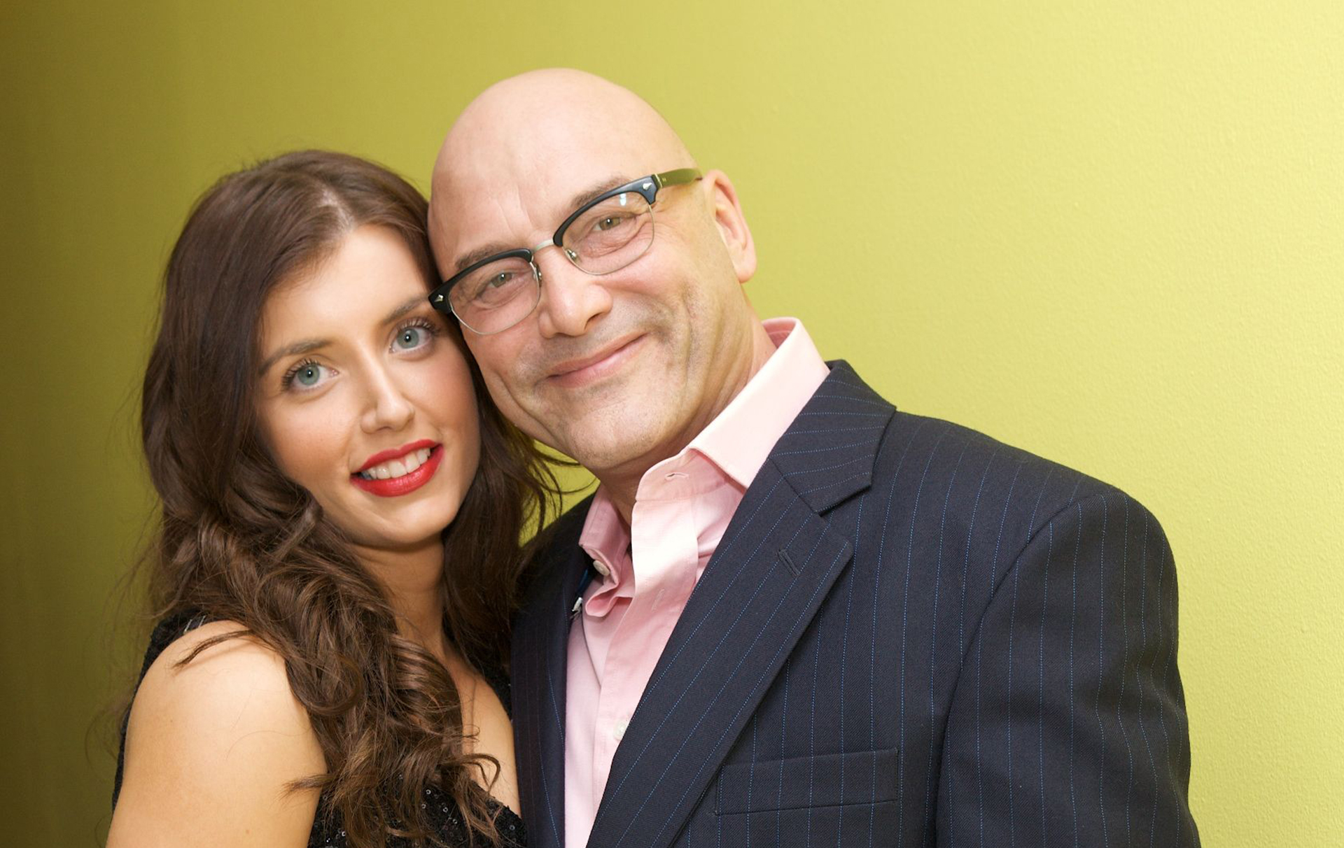 Gregg Wallace and Anne-Marie Sterpini