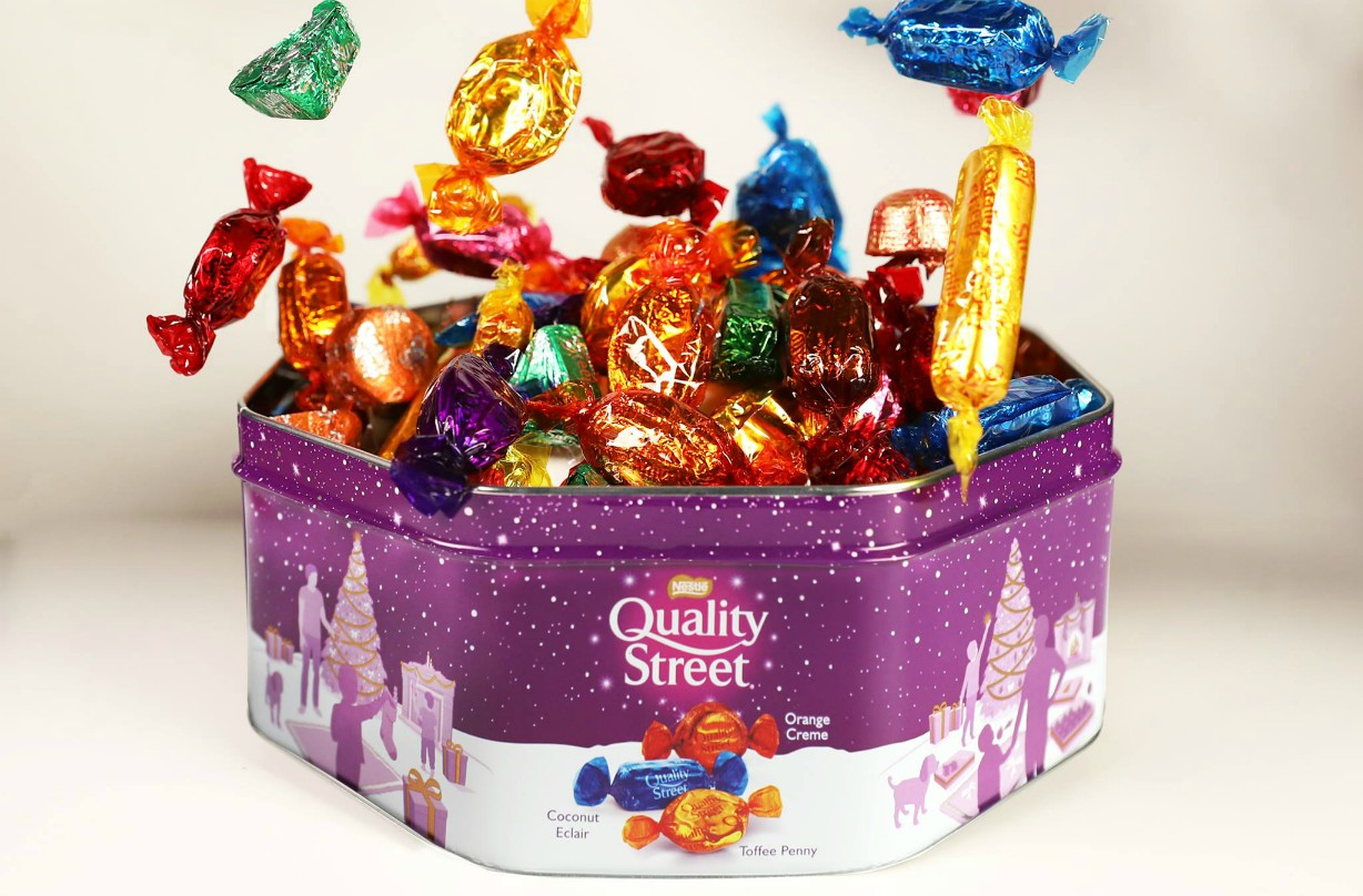 Quality Street missing chocolate