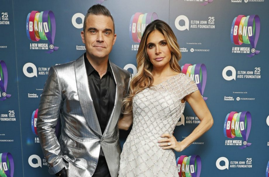 Robbie Williams and Ayda Field announce exciting family news