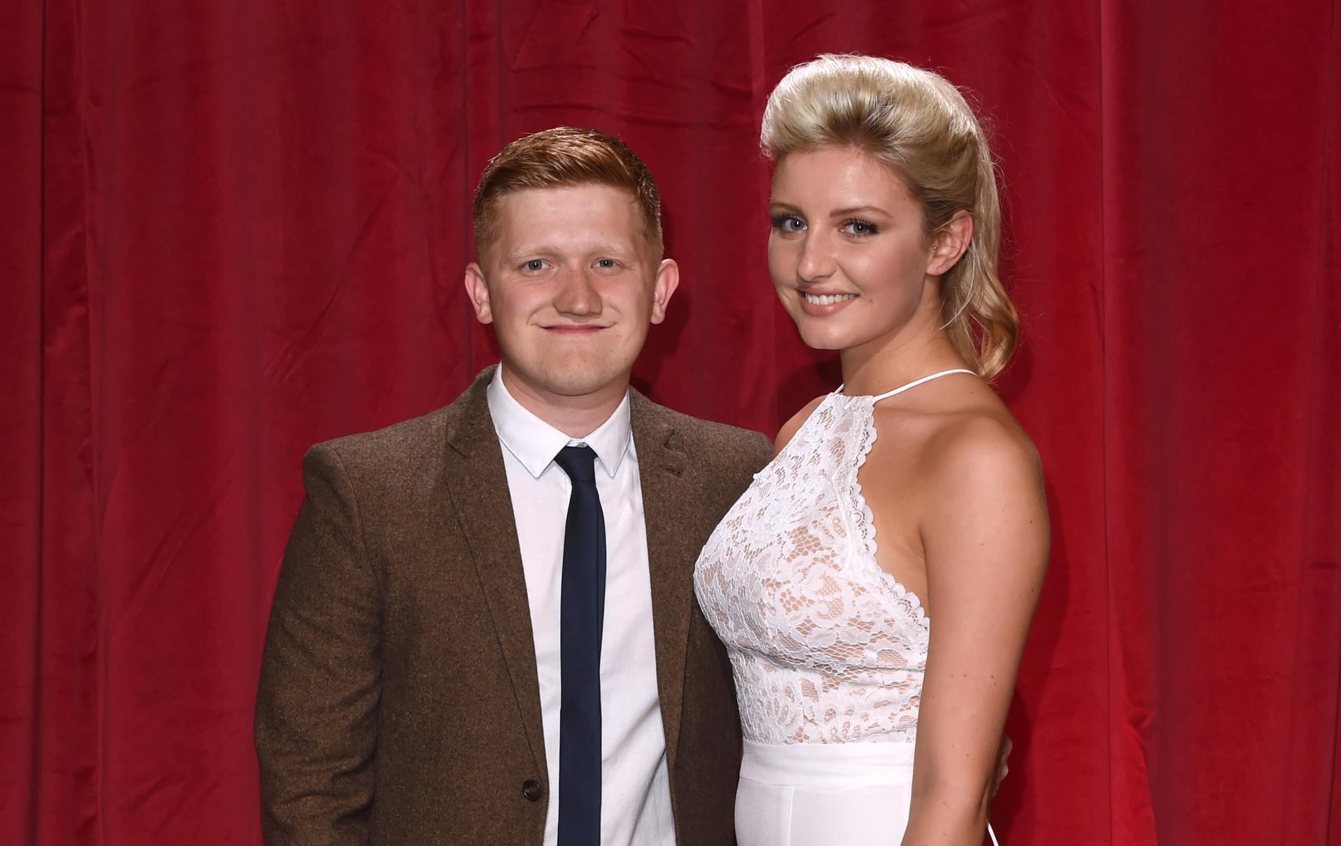 Sam Aston and Briony Gardner