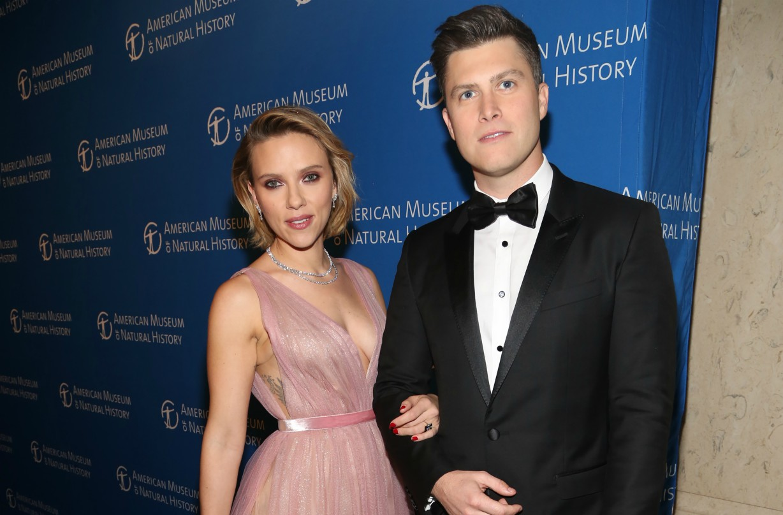 Scarlett Johansson And Colin Jost Reveal Engagement