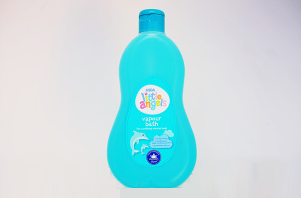 asda lifesaver little angels vapour bubble bath