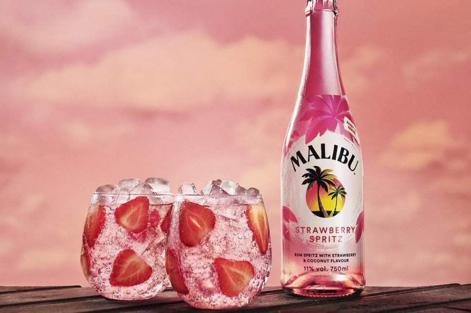 Malibu have launched a strawberry rum spritz just in time for summer