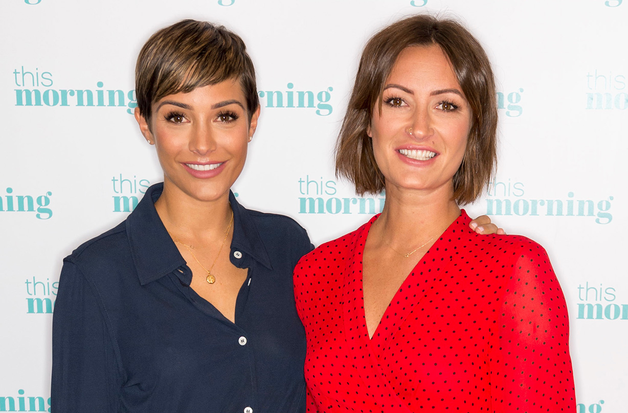 frankie bridge reveals guilt two children