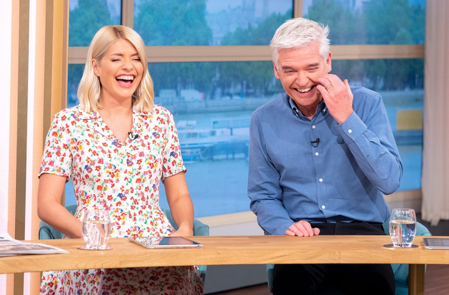 holly willoughby swears drunk holiday phillip schofield
