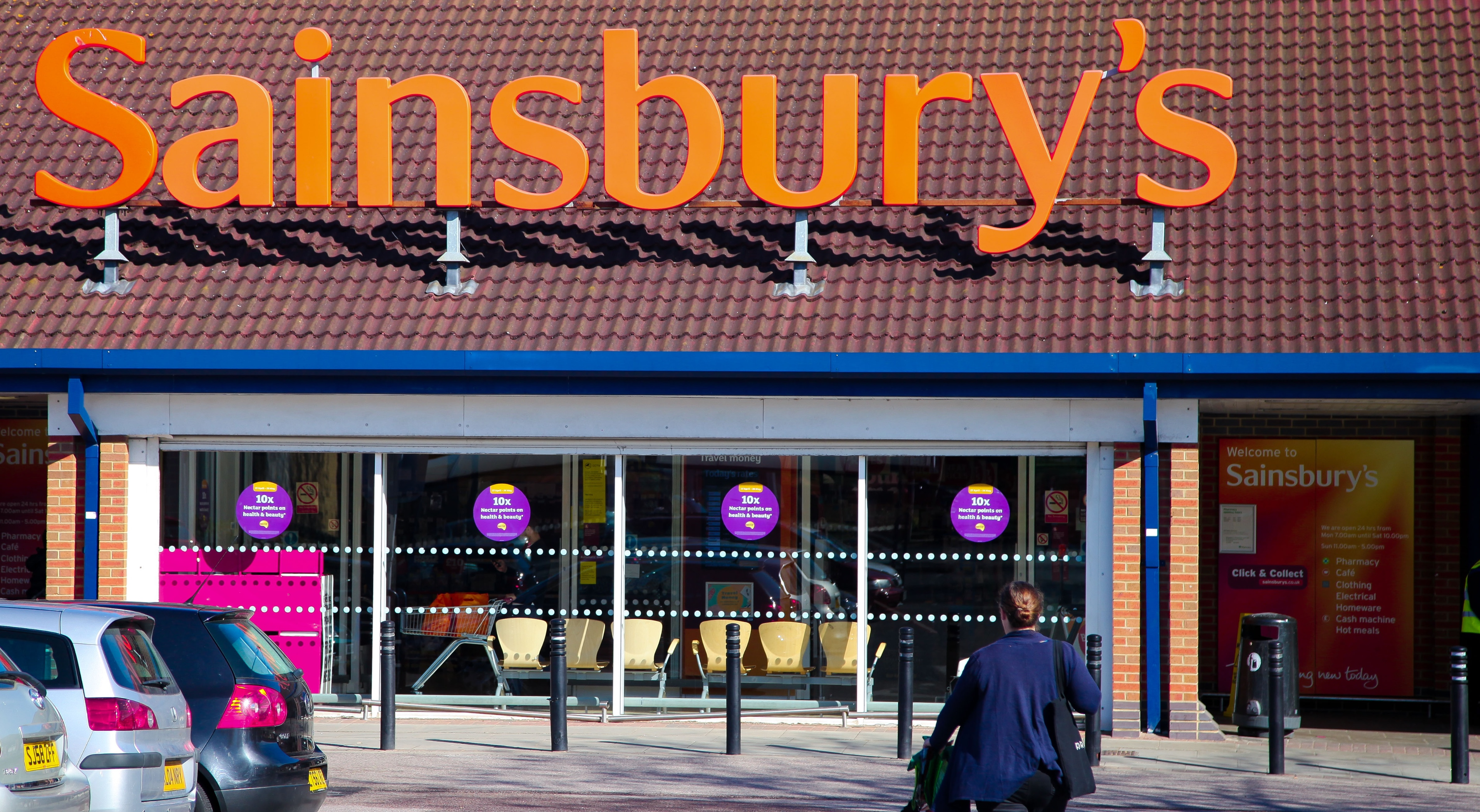 Sainsbury's are trialling their first checkout-free supermarket