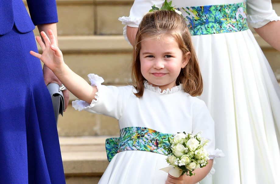 princess charlotte displays sassy side