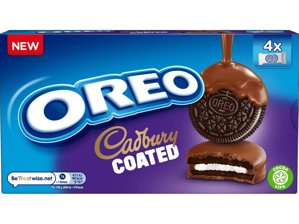 Oreo Have Teamed Up With Cadbury To Release This New Product