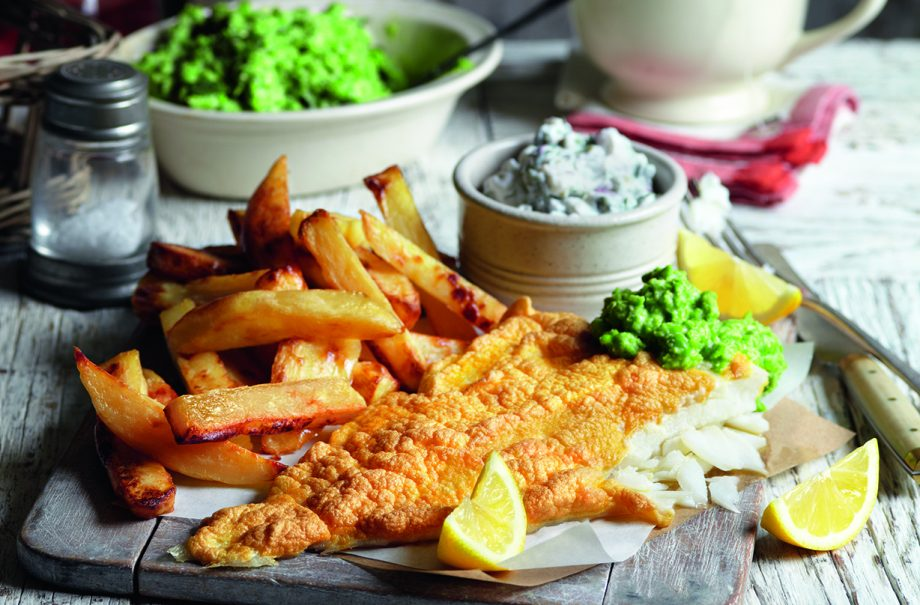 Slimming World fish and chips recipe