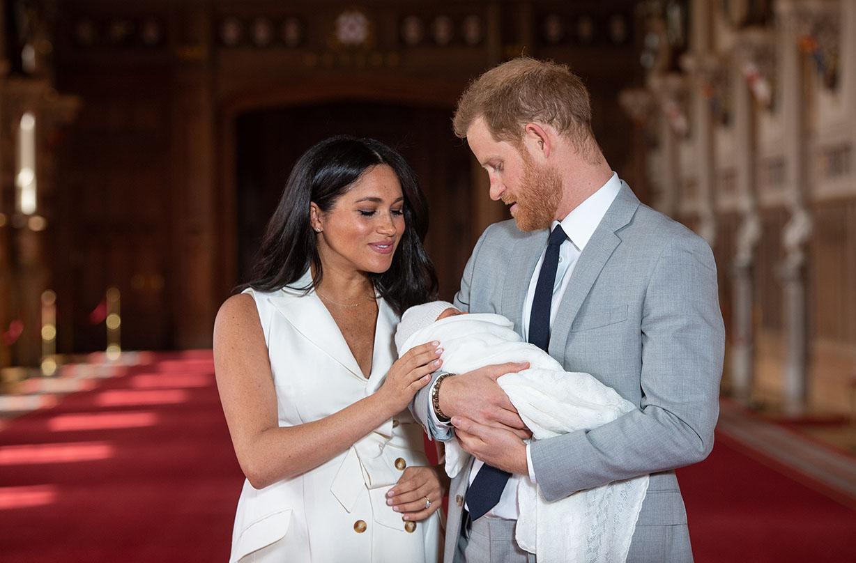 archie harrison christening queen missing