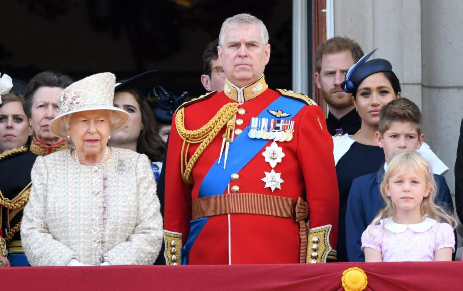 Royal fans spotted Prince Harry 'telling off' Meghan Markle at Trooping the Colour