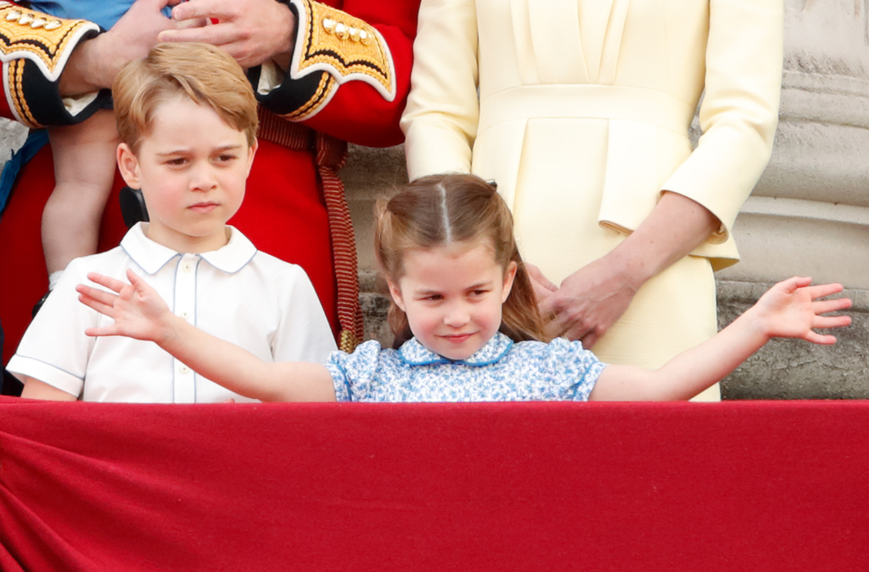 princess charlotte excited school move