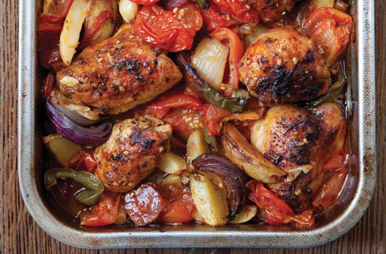 Hairy Bikers Spanish Chicken Bake Spanish Recipes