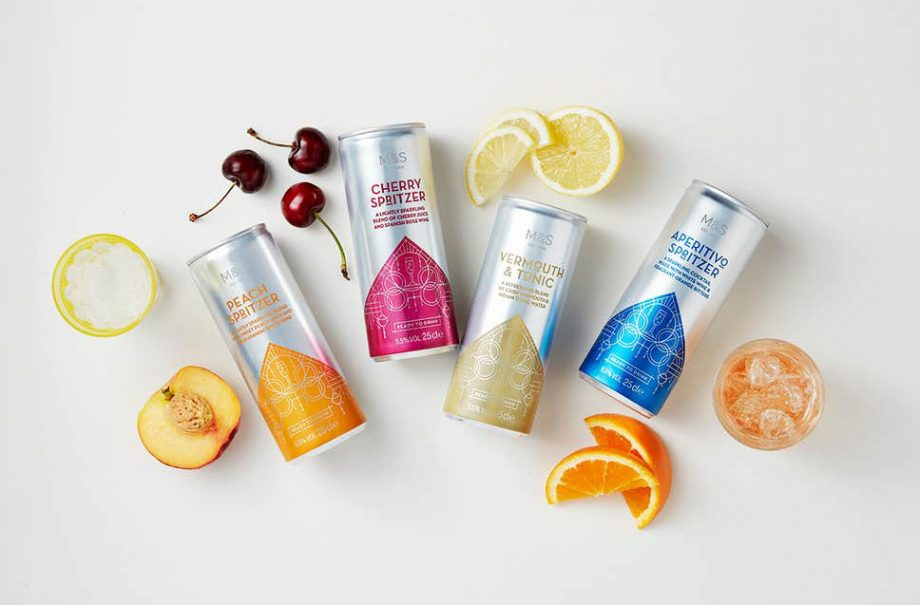 Marks and Spencer can cocktails