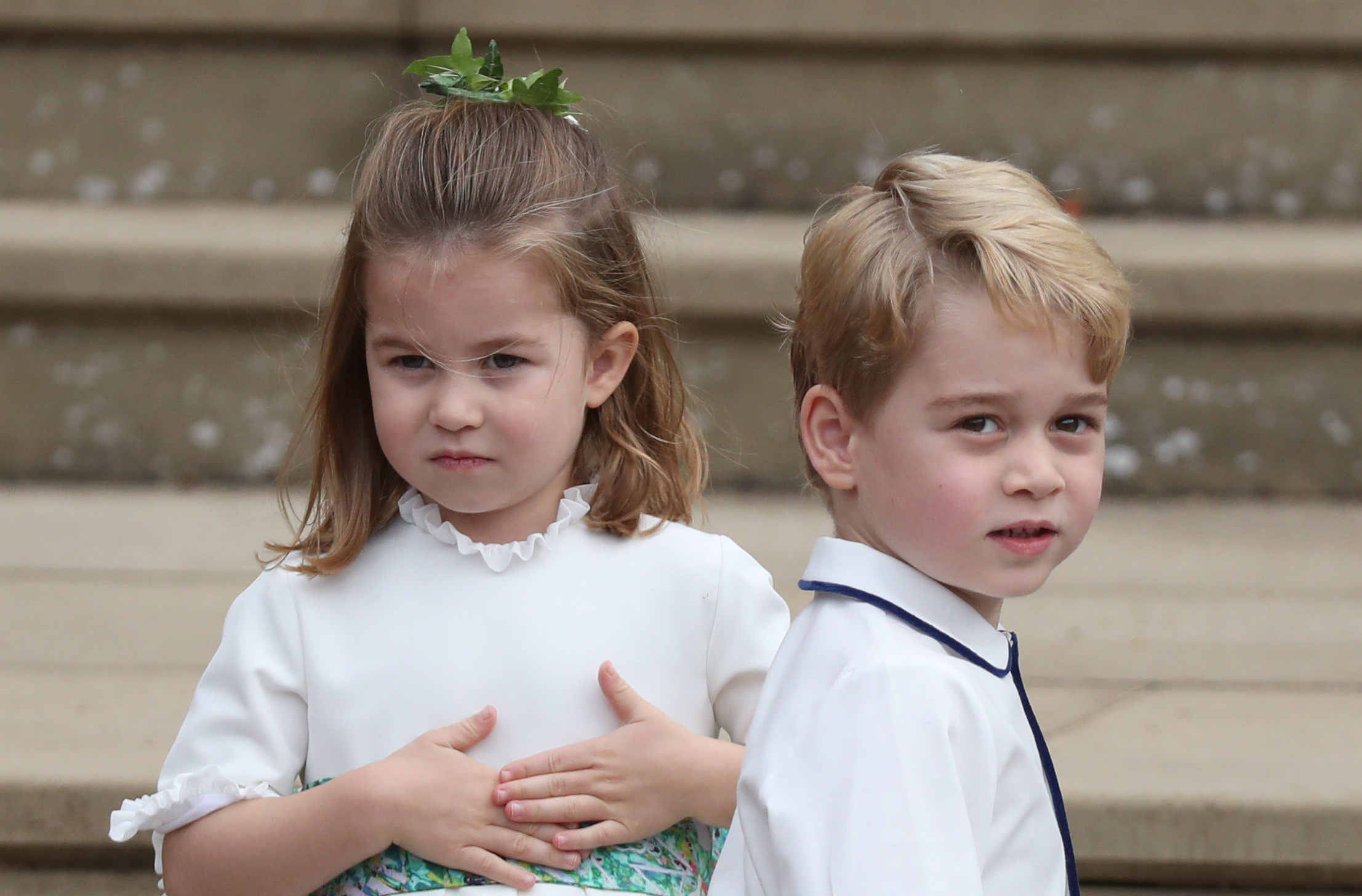 Prince George nd Princess Charlotte
