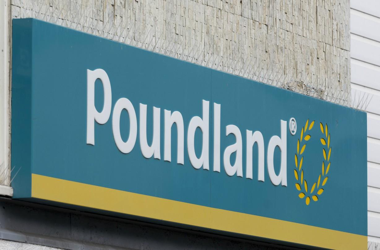Poundland slammed birthday banner