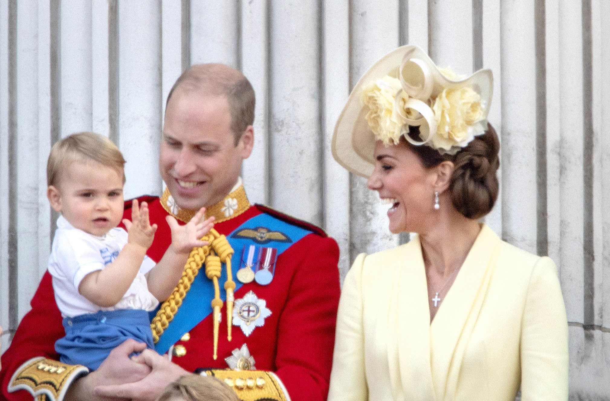 Prince Louis Trooping of the colour