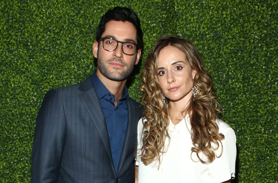 Lucifer's Tom Ellis marries producer girlfriend Meaghan ...