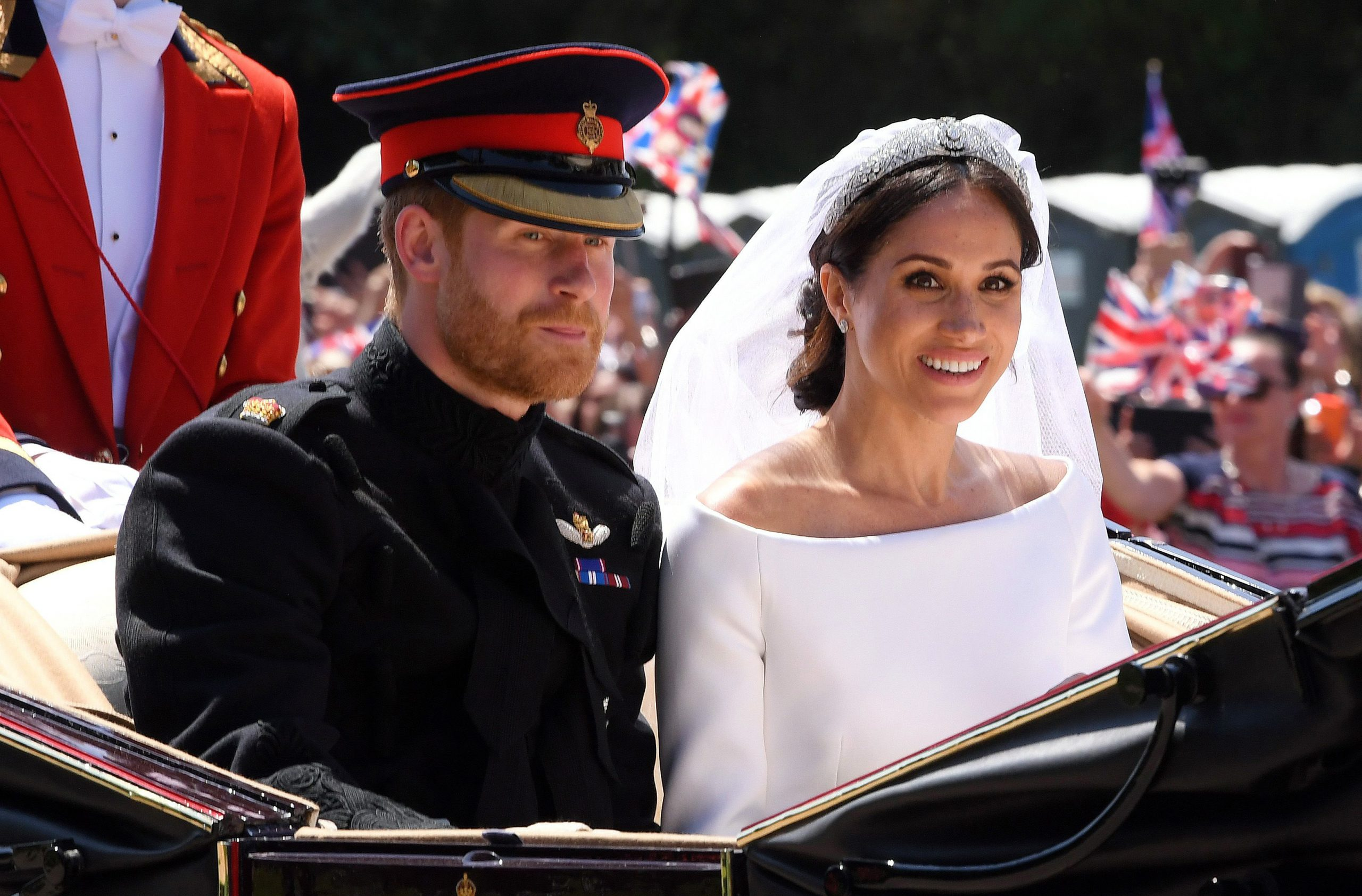 Harry and Meghan wedding day