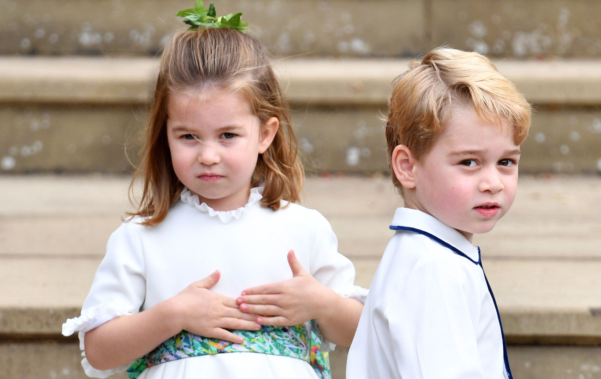 Prince George and Princess Charlotte set for starring roles at new wedding