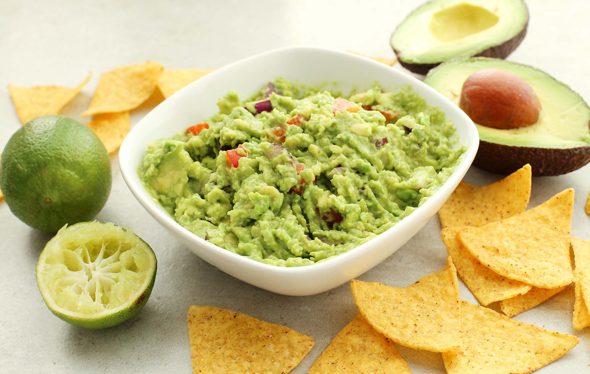 Easy Creamy Guacamole Mexican Recipes Goodtoknow