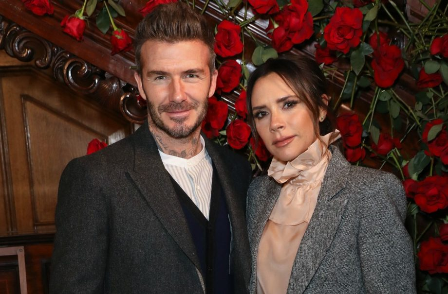 David Victoria Beckham celebrate 20 years marriage