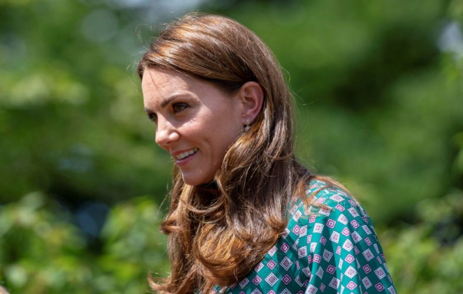 Kate Middleton shares how Prince George and Princess Charlotte helped with Hampton Court Garden