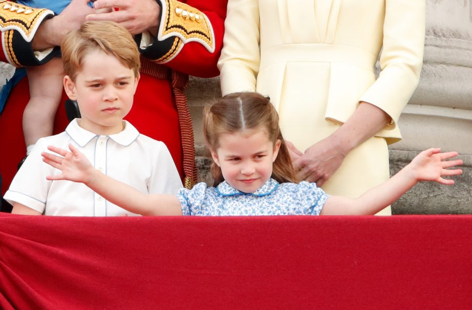 Princess Charlotte shows off secret skill as she plays with Prince George on day out
