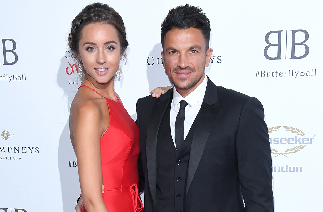 peter andre wedding throwback