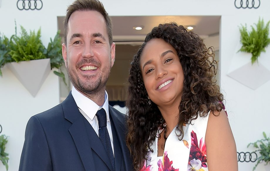 Martin Compston and wife Tianna confirm pregnancy