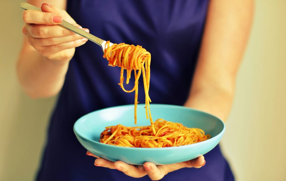 You could earn £5,000 for eating pasta, bread and chips for a month