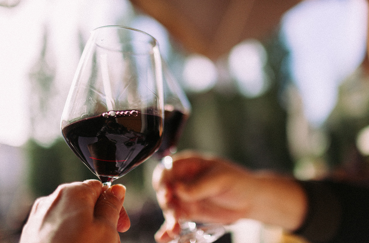 drink red wine chilled
