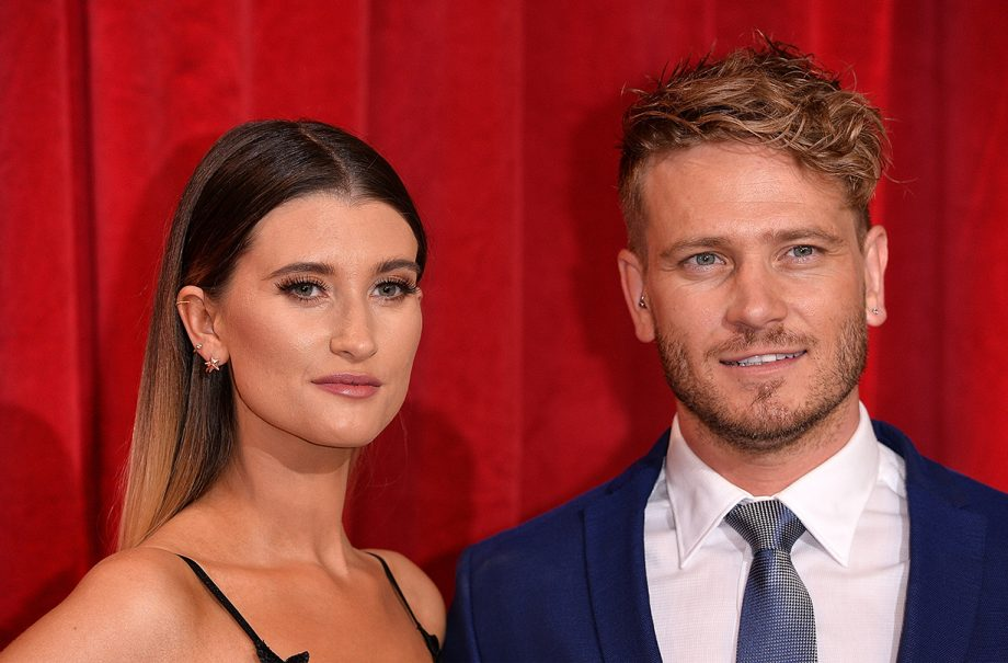 charley webb matthew wolfenden welcome third child