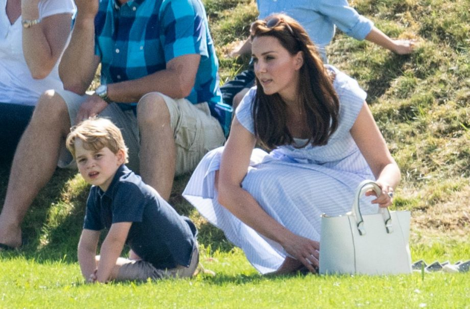 Kate Middleton reveals Prince George has played tennis with a very famous champion