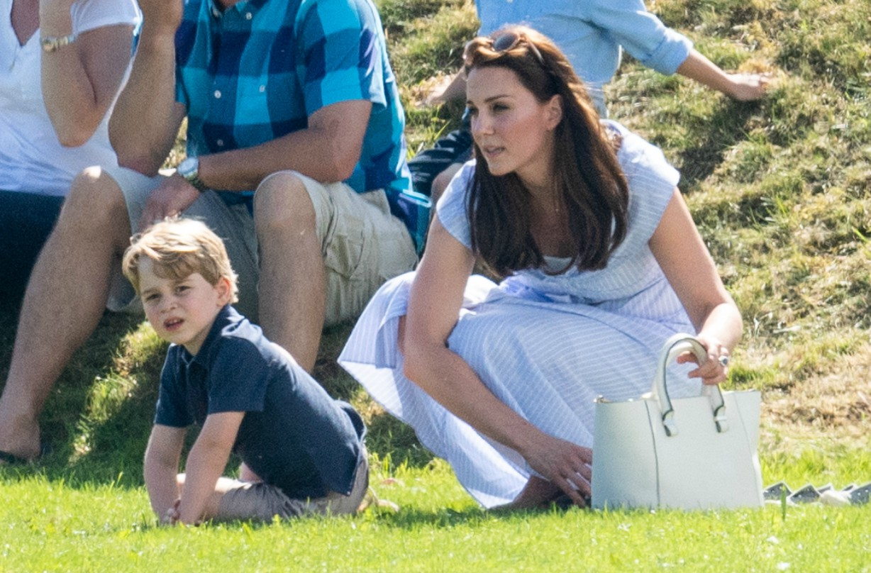 Kate Middleton Prince George tennis