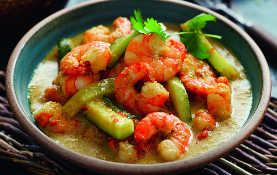 Slimming Worlds Chiang Mai Prawn And Courgette Curry