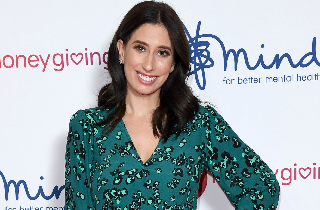 Stacey Solomon's 'controversial' family Christmas card causes parenting debate