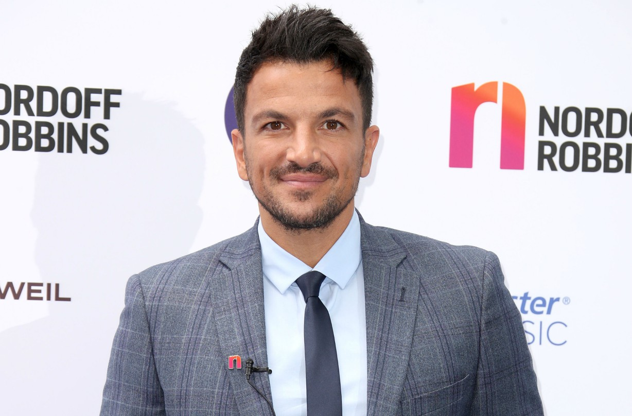 Peter Andre crippling anxiety
