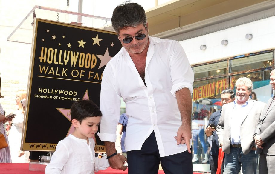 Simon Cowell and son Eric look identical in this new photo