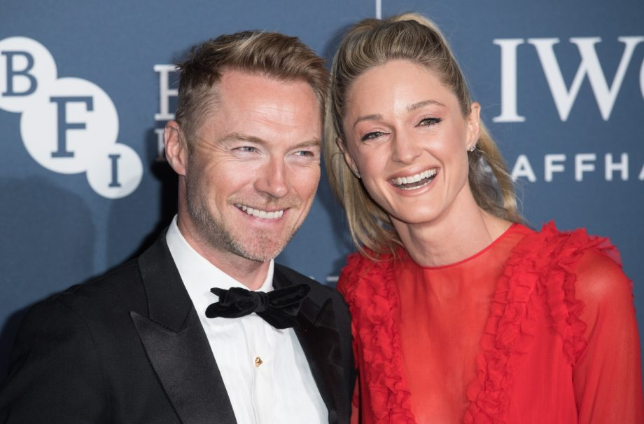 Ronan Keating's wife Storm has shared some exciting family news