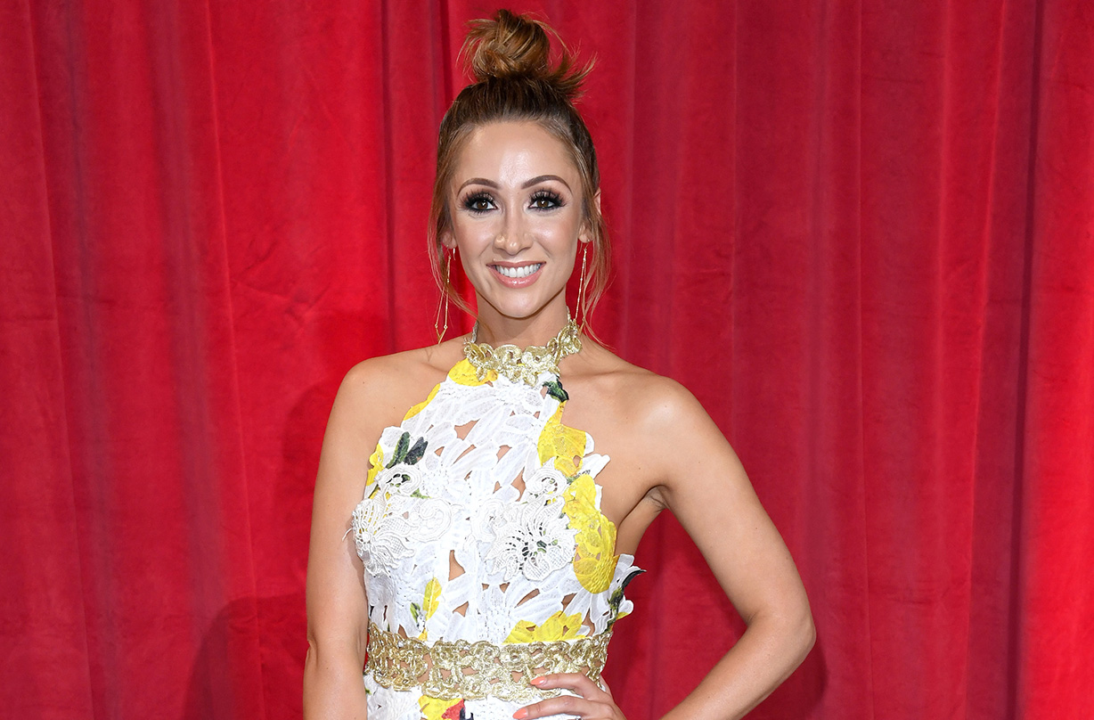 coronation street lucy jo hudson expecting second child