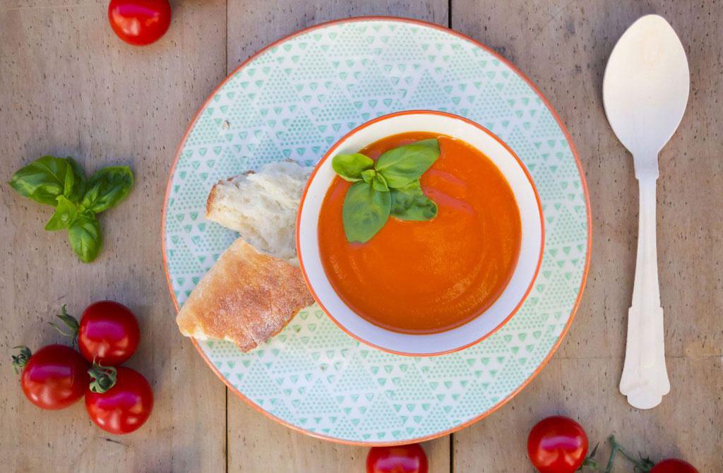 Roast Tomato And Orange Soup Dinner Recipes Goodtoknow