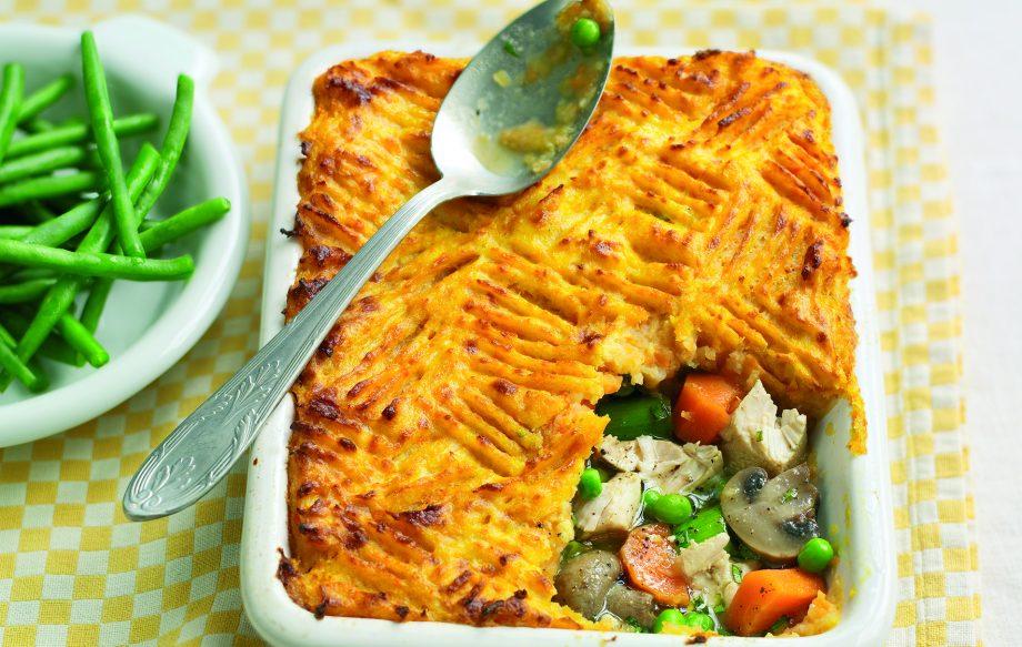 Slimming Worlds Chicken And Leek Pie