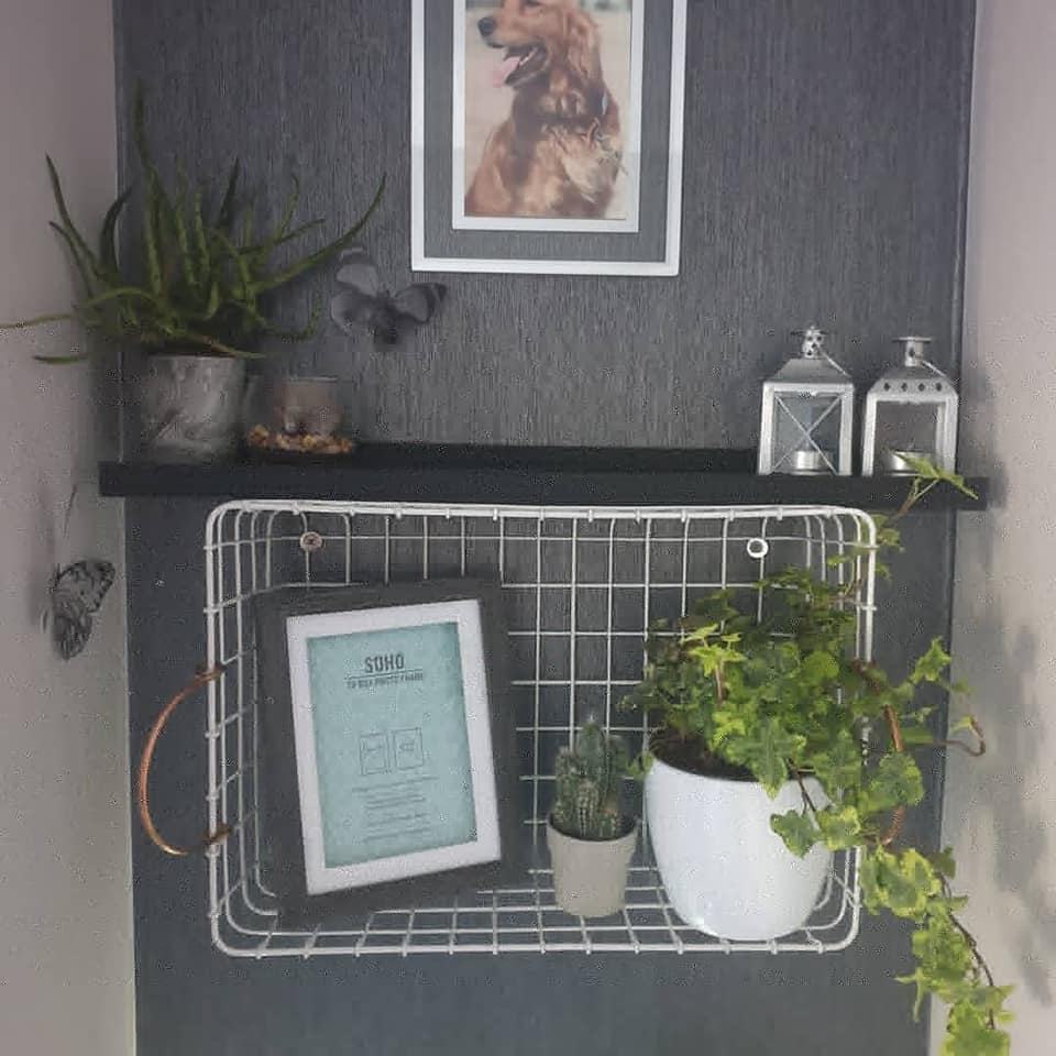 This Genius Hack Turns 6 Argos Baskets Into Handy Shelves