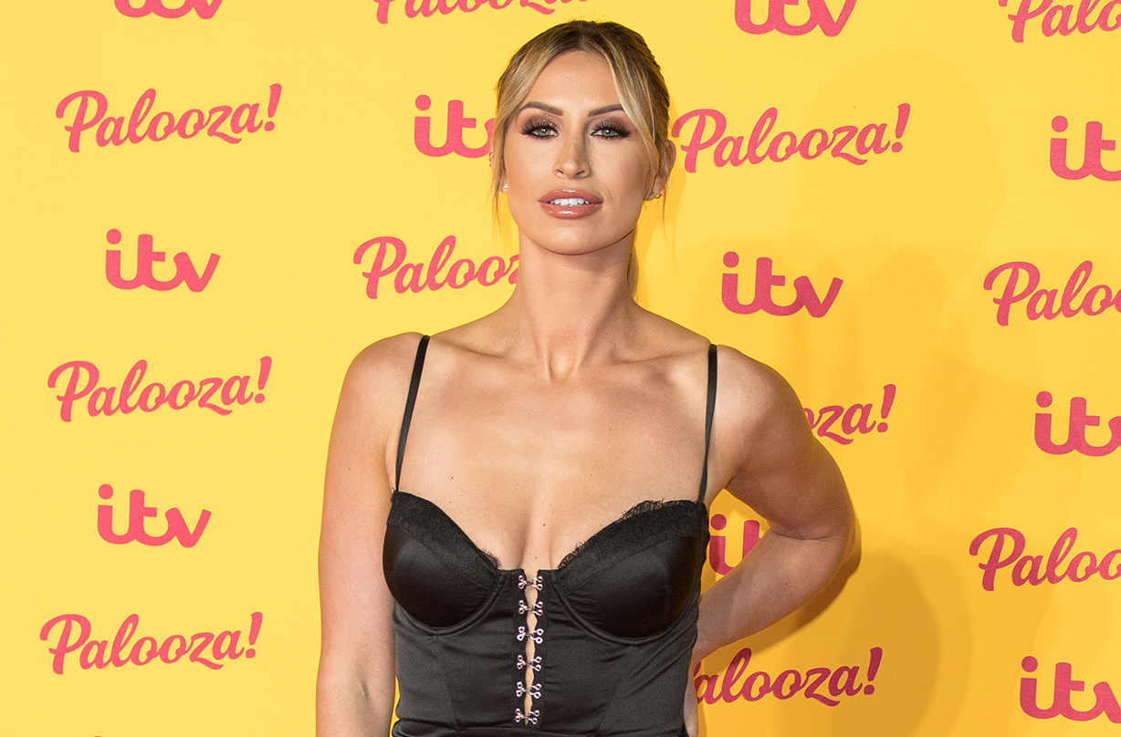 Ferne McCann admits ignored warning signs incontinence
