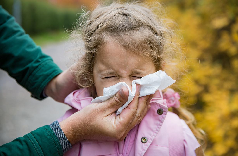 parents sending unwell children school