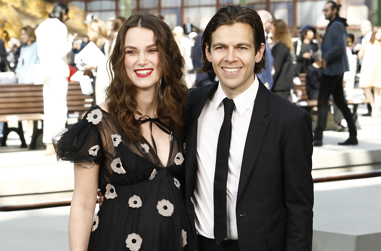 Keira Knightley welcomes second child with husband James ...