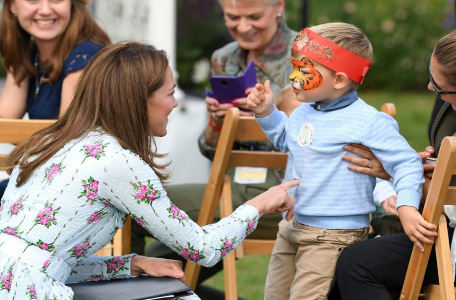 Why this conversation between the Duchess of Cambridge and a child at royal event is going viral