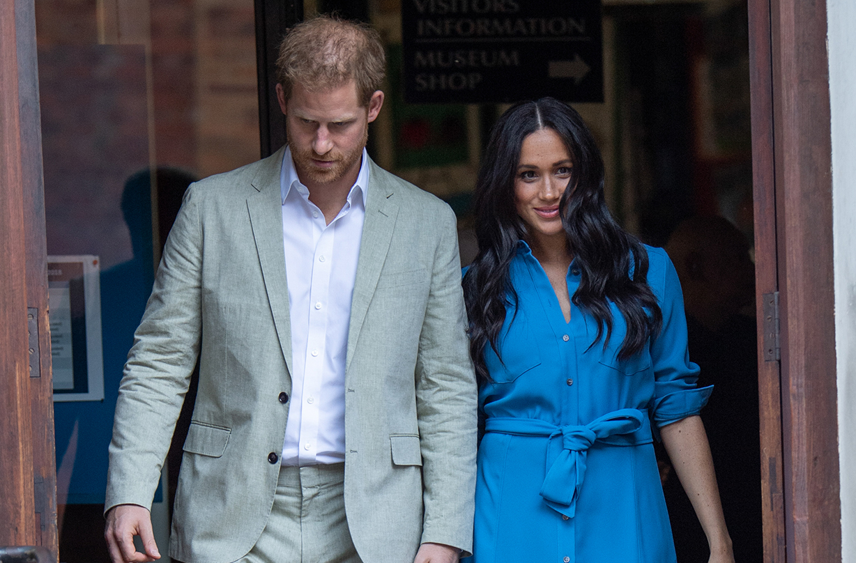 prince harry meghan markle reveal archie update tour day one