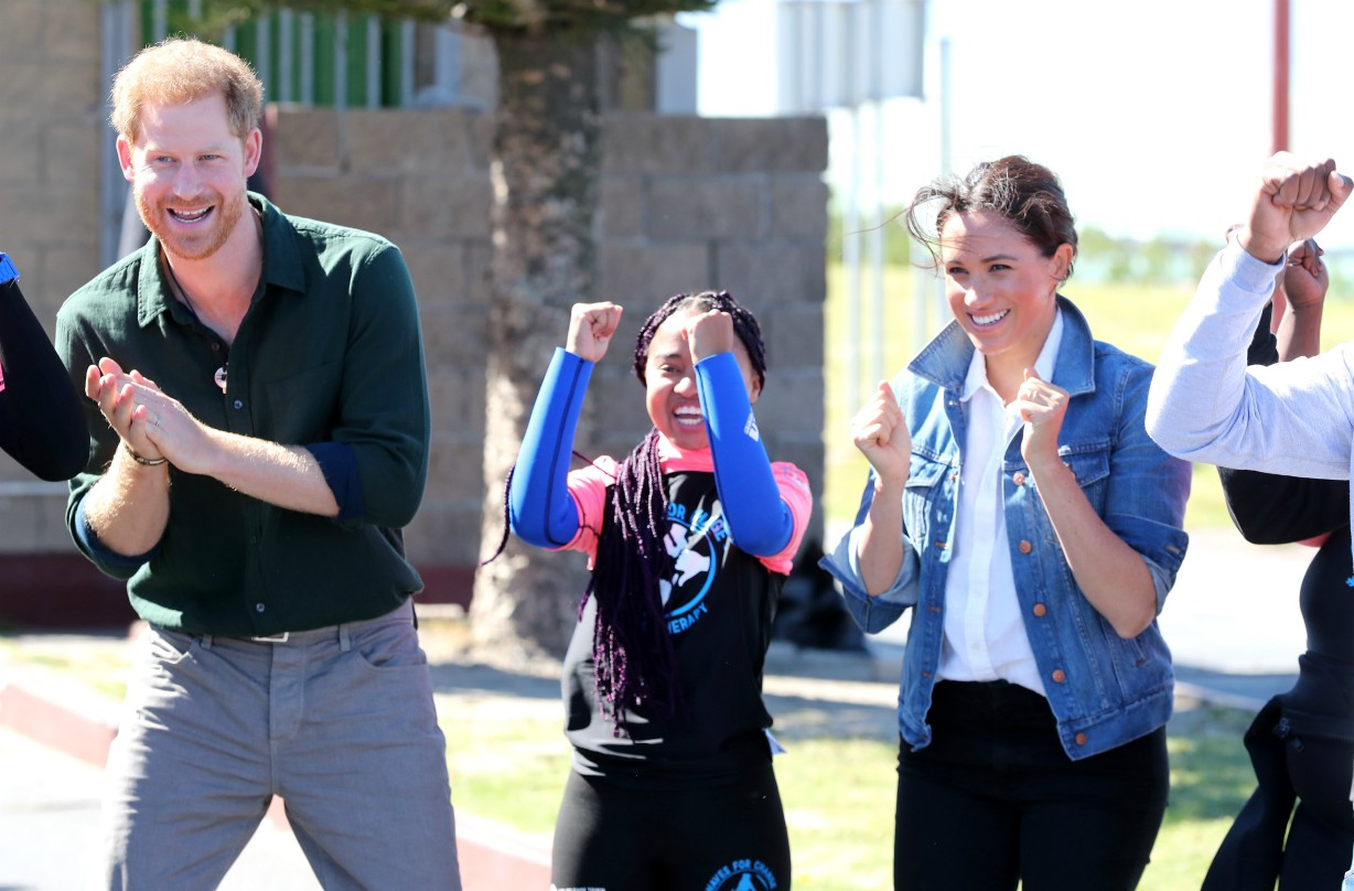 Meghan Markle and Prince Harry parenting